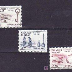 Sellos: GROENLANDIA 136/8 SIN CHARNELA, FAUNA, LOS 1000 DE LA HISTORIA DE GROENLANDIA, . Lote 10528271