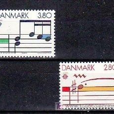Sellos: DINAMARCA 839/4 SIN CHARNELA, TEMA EUROPA 1985, AÑO EUROPEO DE LA MUSICA, . Lote 10532626