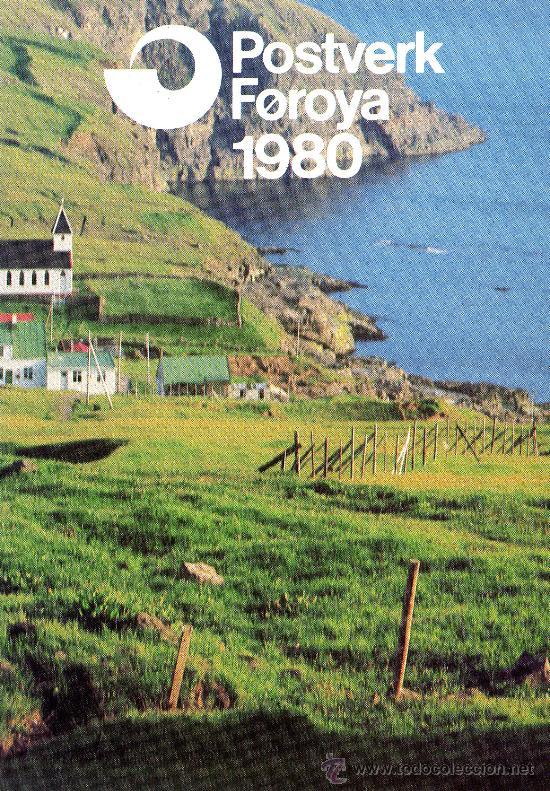 FEROE AÑO 1980 COMPLETO YV 42/52*** EN CARPETA OFICIAL (VER FOTOS) (Sellos - Extranjero - Europa - Dinamarca)