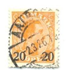 Sellos: 2DINA-172. SELLO USADO DINAMARCA. YVERT Nº 172. BÁSICA. SOBRECARGA. Lote 13936944