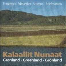 Sellos: GROENLANDIA AÑO 1991 COMPLETO NUEVO*** EN CARPETA OFICIAL (VER FOTOS) POLAR. Lote 26335506