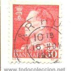 Sellos: 2-DINA399. SELLO USADO DINAMARCA. YVERT Nº 399. REY FEDERICO IX. Lote 17902916