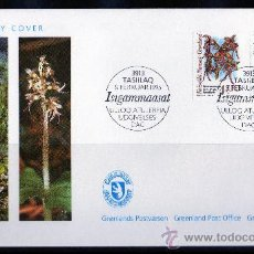 Sellos: GROENLANDIA AÑO 1995 YV 244/45 SPD ORQUÍDEAS ÁRTICAS FLORA - FLORES NATURALEZA POLAR. Lote 26454592