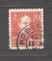 DINAMARCA, 1943-46, REY CRISTIAN X,YVERT TELLIER 284 (Sellos - Extranjero - Europa - Dinamarca)