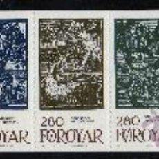 Sellos: FEROE AÑO 1984 YV C 100/05*** CARNET - CUENTOS DE HADAS - LEYENDAS Y TRADICIONES - DIBUJOS - ARTE. Lote 26827120