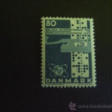 Sellos: DINAMARCA Nº YVERT 439*** AÑO 1965 CENTENARIO U.I.T.. Lote 32270194