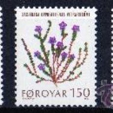 Sellos: FEROE AÑO 1980 YV 42/46*** PLANTAS SILVESTRES DE FLORA AUTÓCTONA - FLORES - NATURALEZA - CZ SLANIA. Lote 28073472