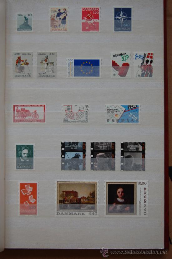 DINAMARCA, AÑO 1989. (Sellos - Extranjero - Europa - Dinamarca)