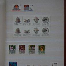 Sellos: DINAMARCA, AÑO 1990.. Lote 29830223