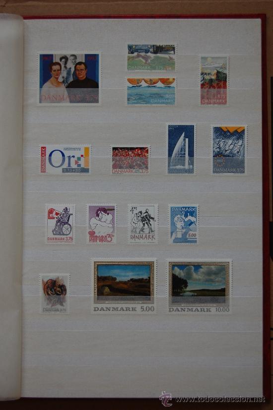 DINAMARCA, AÑO 1992. (Sellos - Extranjero - Europa - Dinamarca)