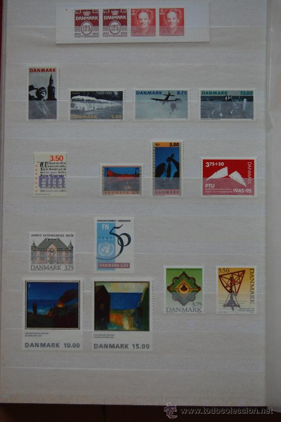 DINAMARCA, AÑO 1995. (Sellos - Extranjero - Europa - Dinamarca)