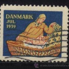 Sellos: S-4464- DANMARK. JUL 1939. Lote 30653041