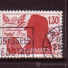 Sellos: DINAMARCA 695 - AÑO 1979 - BICENTENARIO DEL NACIMIENTO DEL POETA ADAM OEHLENSCHLAGER. Lote 33284590