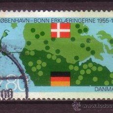 Sellos: DINAMARCA 832 - AÑO 1985 - 30º ANIVERSARIO DE LA DECLARACION BONN - COPENHAGUE. Lote 33394009