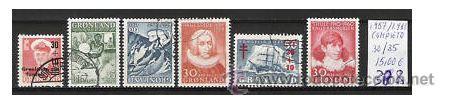 388-GROENLANDIA COMPLETO AÑOS 1957/35 30/5.15,00€.TODO SERIES COMPLETAS GROENLANDIA VALOR 15,00€ . (Sellos - Extranjero - Europa - Dinamarca)