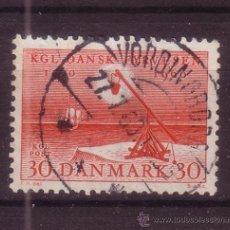 Sellos: DINAMARCA 391 - AÑO 1960 - 4º CENTENARIO DE LOS FAROS COSTEROS. Lote 35006416