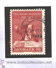 DINAMARCA 1972 - MICHEL NRO. 530 - LUDVIG HOLBERG - USADO (Sellos - Extranjero - Europa - Dinamarca)