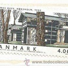 Selos: DINAMARCA 2002.ARQUITECTURA. CASA DANESA. Lote 41042484