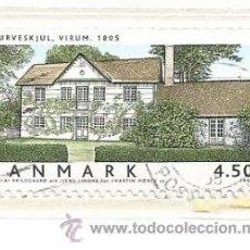 Selos: DINAMARCA 2004.ARQUITECTURA. CASA DANESA. Lote 41042566