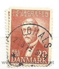 DINAMARCA 1947. CARLSBERG CERVECERÍA (Sellos - Extranjero - Europa - Dinamarca)