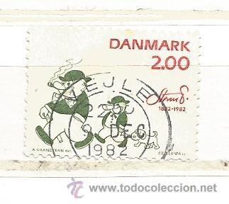 DINAMARCA 1982. CÓMIC, ROBERT STORM (Sellos - Extranjero - Europa - Dinamarca)