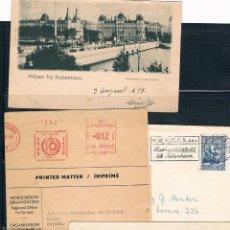 Sellos: CONJUNTO DE 8 PIEZAS DE HISTORIA POSTAL. Lote 42362538