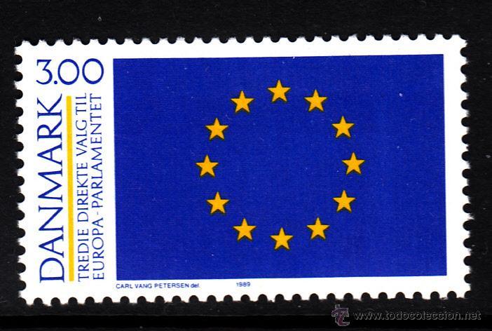 DINAMARCA 952** - AÑO 1989 - 3º ELECCIONES AL PARLAMENTO EUROPEO (Sellos - Extranjero - Europa - Dinamarca)
