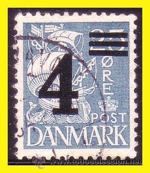 DINAMARCA 1934 IVERT Nº 227 (O) (Sellos - Extranjero - Europa - Dinamarca)