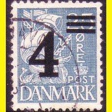 Selos: DINAMARCA 1934 IVERT Nº 227 (O). Lote 45319862