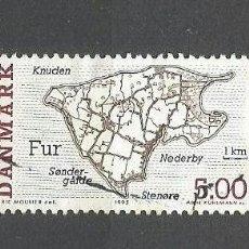 Briefmarken - DINAMARCA YVERT NUM. 1101 USADO - 46127193