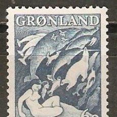 Briefmarken - GROENLANDIA DINAMARCA YVERT NUM. 30 ** SERIE COMPLETA SIN FIJASELLOS - 49831125
