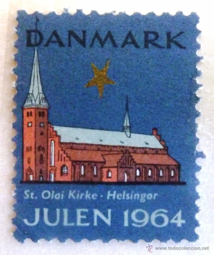 VIÑETAS DINAMARCA 1964. (Sellos - Extranjero - Europa - Dinamarca)