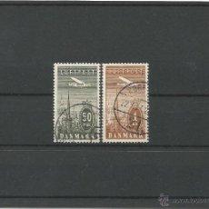Sellos: 1934 - AVIÓN SOBREVOLANDO COPENHAGUE - DINAMARCA. Lote 50092541
