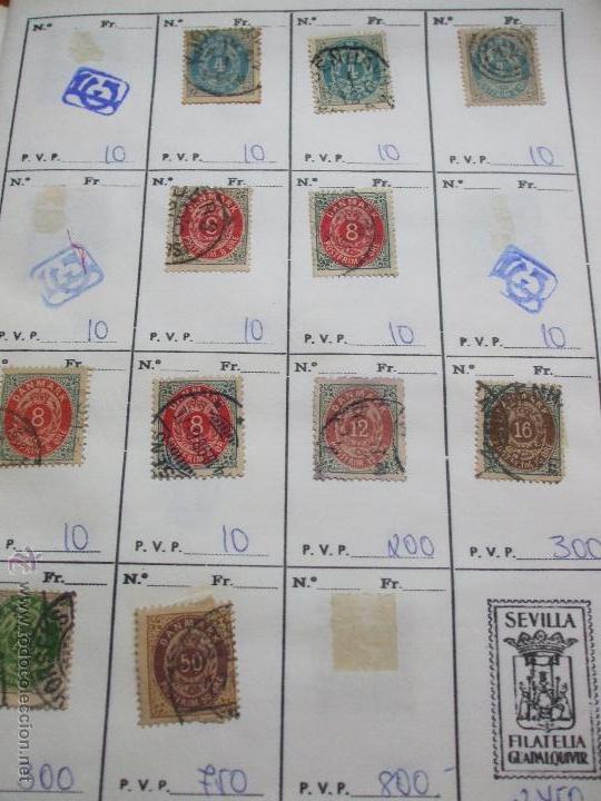 Sellos: .dinamarca 3 libretas aproximadamente 677 sellos clasificados, diversas calidades + fotos - Foto 3 - 50674634