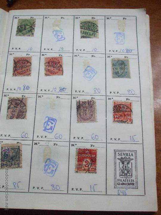 Sellos: .dinamarca 3 libretas aproximadamente 677 sellos clasificados, diversas calidades + fotos - Foto 4 - 50674634