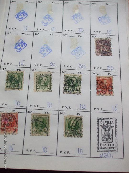 Sellos: .dinamarca 3 libretas aproximadamente 677 sellos clasificados, diversas calidades + fotos - Foto 5 - 50674634