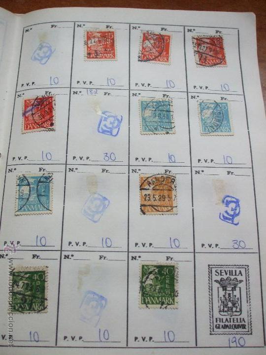 Sellos: .dinamarca 3 libretas aproximadamente 677 sellos clasificados, diversas calidades + fotos - Foto 12 - 50674634