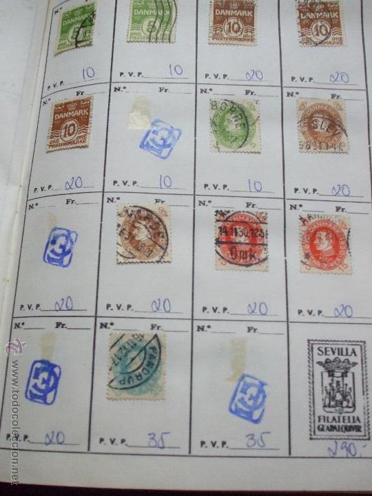 Sellos: .dinamarca 3 libretas aproximadamente 677 sellos clasificados, diversas calidades + fotos - Foto 13 - 50674634