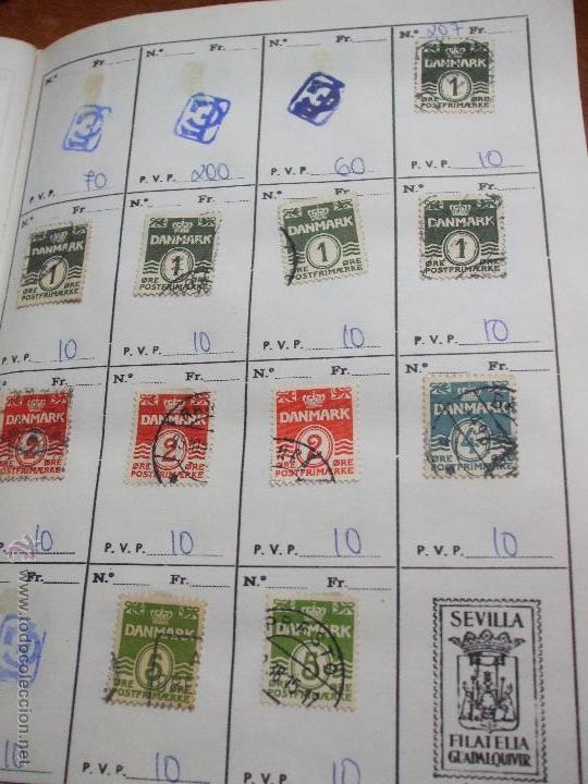 Sellos: .dinamarca 3 libretas aproximadamente 677 sellos clasificados, diversas calidades + fotos - Foto 14 - 50674634