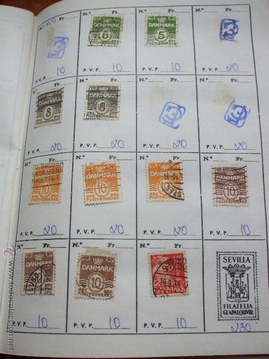 Sellos: .dinamarca 3 libretas aproximadamente 677 sellos clasificados, diversas calidades + fotos - Foto 15 - 50674634
