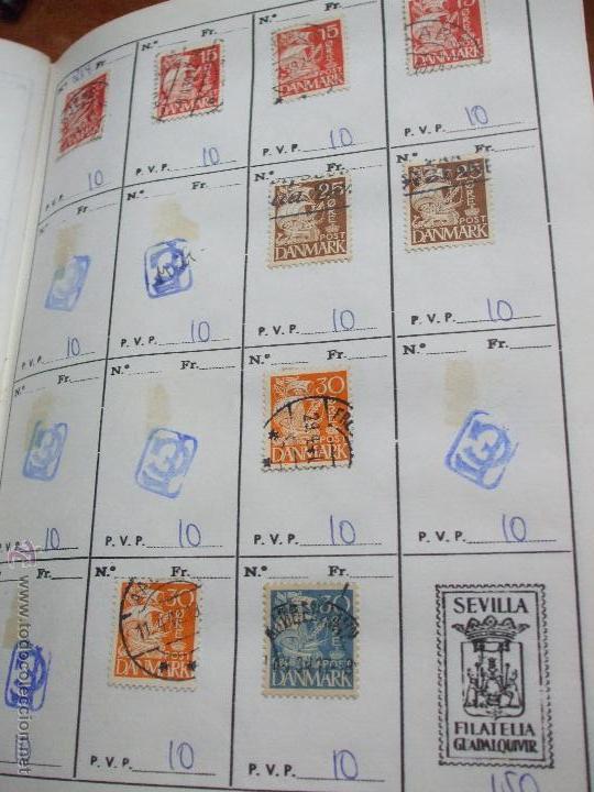 Sellos: .dinamarca 3 libretas aproximadamente 677 sellos clasificados, diversas calidades + fotos - Foto 16 - 50674634