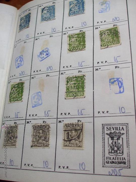 Sellos: .dinamarca 3 libretas aproximadamente 677 sellos clasificados, diversas calidades + fotos - Foto 17 - 50674634