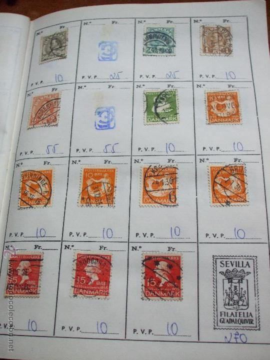 Sellos: .dinamarca 3 libretas aproximadamente 677 sellos clasificados, diversas calidades + fotos - Foto 18 - 50674634