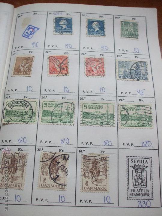 Sellos: .dinamarca 3 libretas aproximadamente 677 sellos clasificados, diversas calidades + fotos - Foto 19 - 50674634