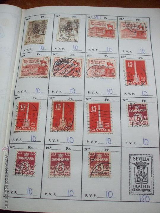 Sellos: .dinamarca 3 libretas aproximadamente 677 sellos clasificados, diversas calidades + fotos - Foto 20 - 50674634