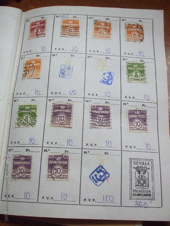 Sellos: .dinamarca 3 libretas aproximadamente 677 sellos clasificados, diversas calidades + fotos - Foto 21 - 50674634