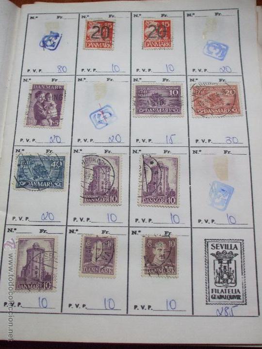 Sellos: .dinamarca 3 libretas aproximadamente 677 sellos clasificados, diversas calidades + fotos - Foto 23 - 50674634