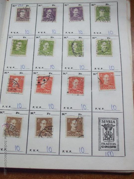 Sellos: .dinamarca 3 libretas aproximadamente 677 sellos clasificados, diversas calidades + fotos - Foto 24 - 50674634