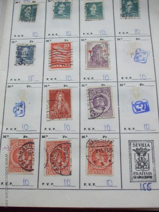 Sellos: .dinamarca 3 libretas aproximadamente 677 sellos clasificados, diversas calidades + fotos - Foto 26 - 50674634
