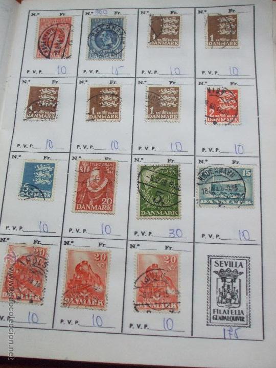 Sellos: .dinamarca 3 libretas aproximadamente 677 sellos clasificados, diversas calidades + fotos - Foto 27 - 50674634